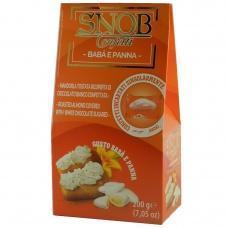 Цукерки SNOB мигдаль в шоколаді кремовим смаком 200г