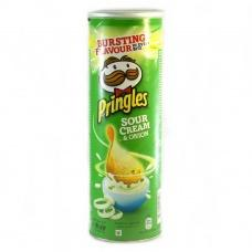 Чіпси Pringles сметана та зелень 165г