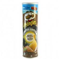 Чіпси Pringles Смажена курка та ароматні трави 200г