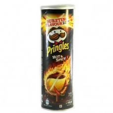 Чіпси Pringles Hot&Spicy гострі 165г