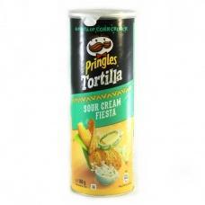 Чіпси Pringles кукурудзяні сметана та зелень 160г
