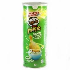 Чіпси Pringles сметана та зелень 130г