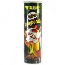 Чіпси Pringles Hot&spicy 200г