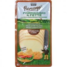 Сир Parmareggio formaggio a fette копчений 120г