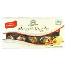 Цукерки Henry Lambertz Mozart-Kugeln з марципаном в білому шоколаді 200г