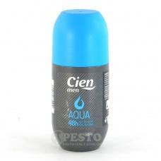 Шаріковий дезодорнт Cien men aqua 48h