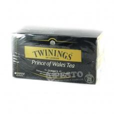 Twinings Prince of wales tea 25 шт