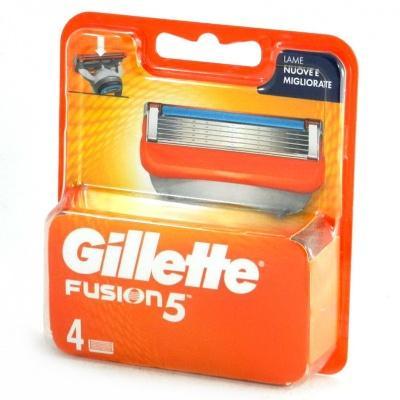 Змінні касети для бриття Gillette Fusion5 4 шт